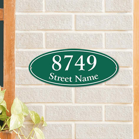 Home Address Signs