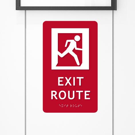 Entrance & Exit Signs