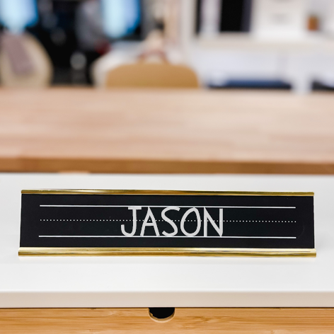 Name Plate Inserts