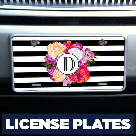 Icemaris One Direction Four Aluminum License Plate Funny Decorative Automotive High Gloss License Plate Tag Car Accessories 12 X 6 Inches