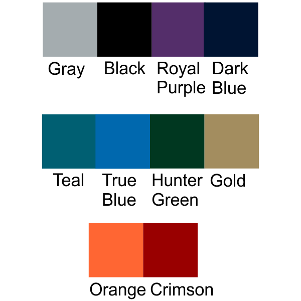 Background Color Selections
