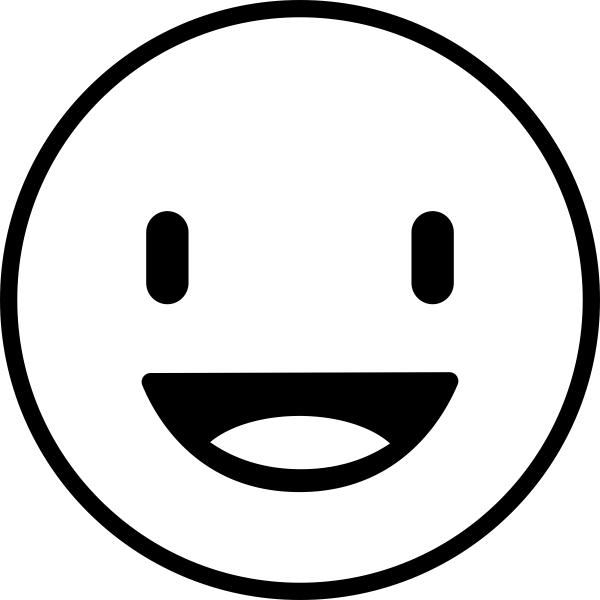 Happy Emoji Teacher Craft Stamp