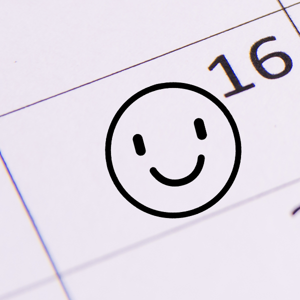 Smiley Emoji Teacher Craft Stamp Imprint Example
