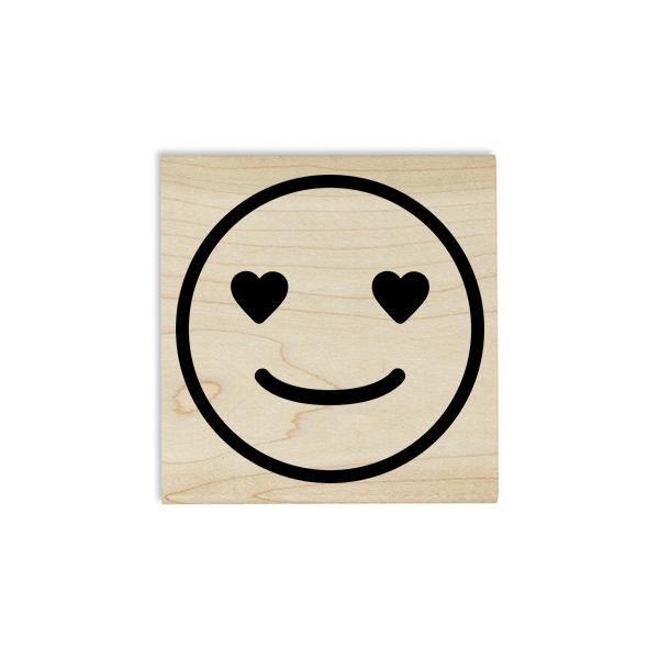 Love Emoji Teacher Craft Stamp Body and Design
