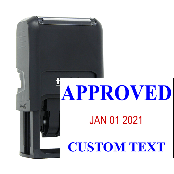 Approved Custom One Line Dater Stamp