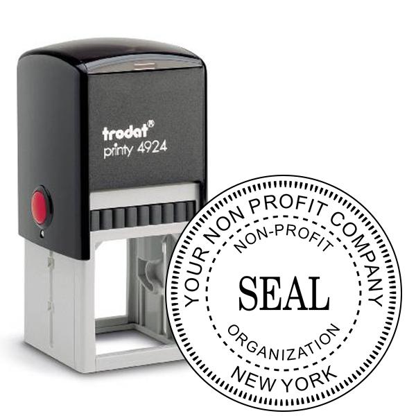 Non-Profit Organization Seal Stamp