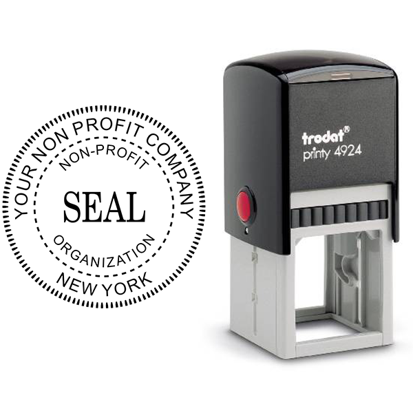 Non-Profit Organization Seal Stamp Body and Design
