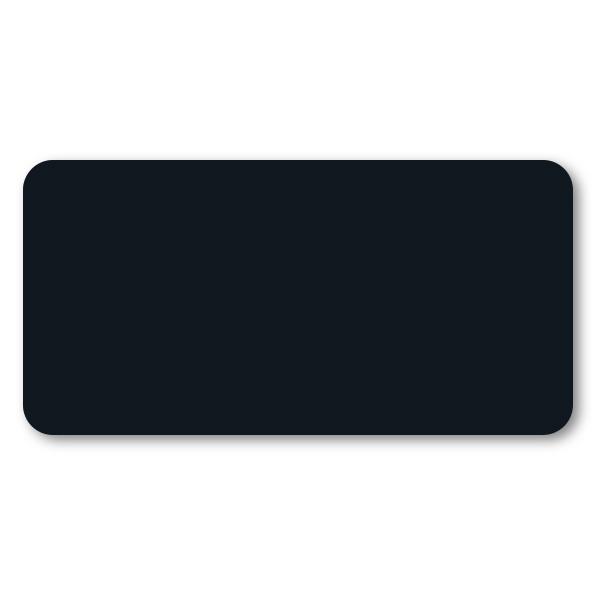 Black Chalkboard Reusable Rectangle Name Tag