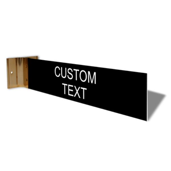 "Custom Room Projection Sign | 2"" x 10"""