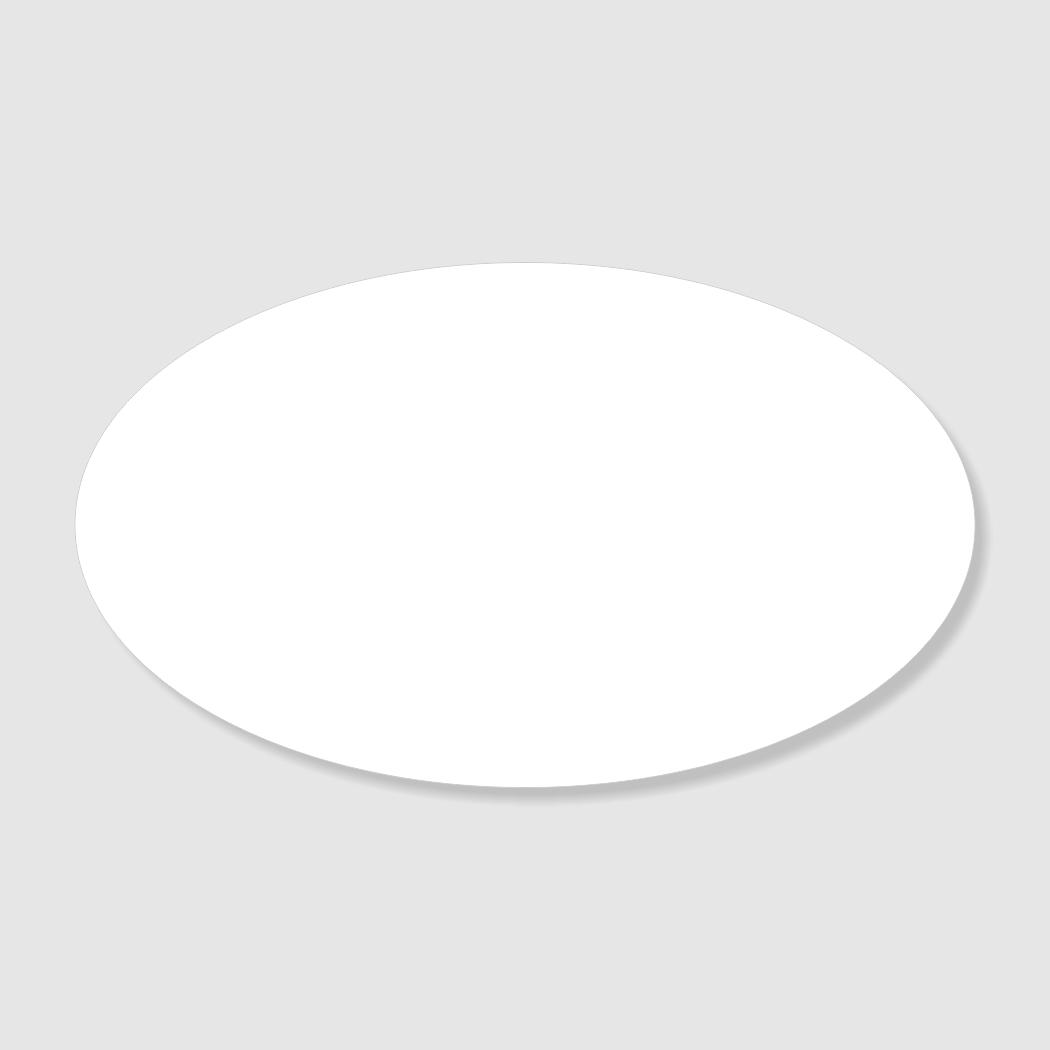 1.75X3 Laser Engraved Oval Name Badge