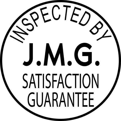 Custom Inspected by Satisfaction Guarantee Stamp