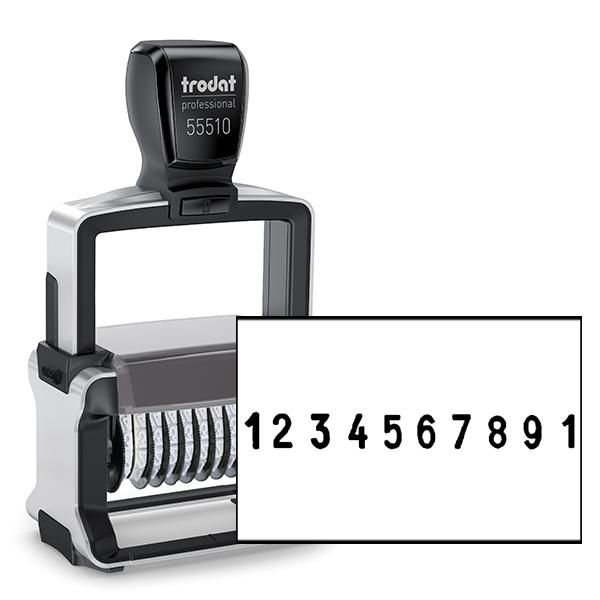 Trodat Professional 55510 | 10 Digit Numberer Stamp