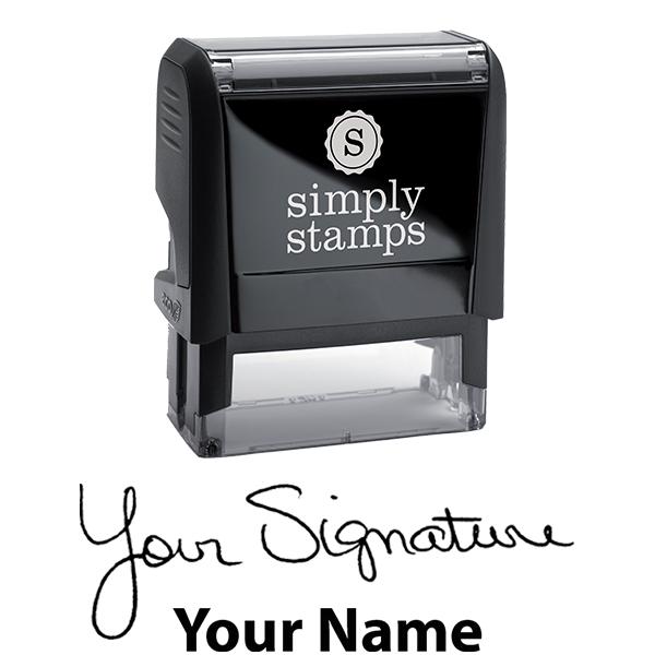 Medium Signature Stamp Bottom Body and Design