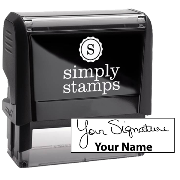 Extra Large Signature Stamp Bottom
