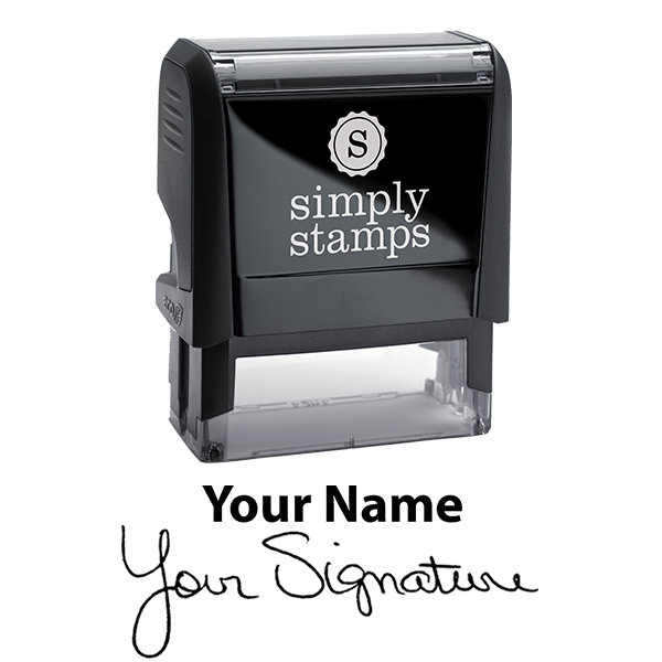 Extra Large Signature Stamp Top Body and Design