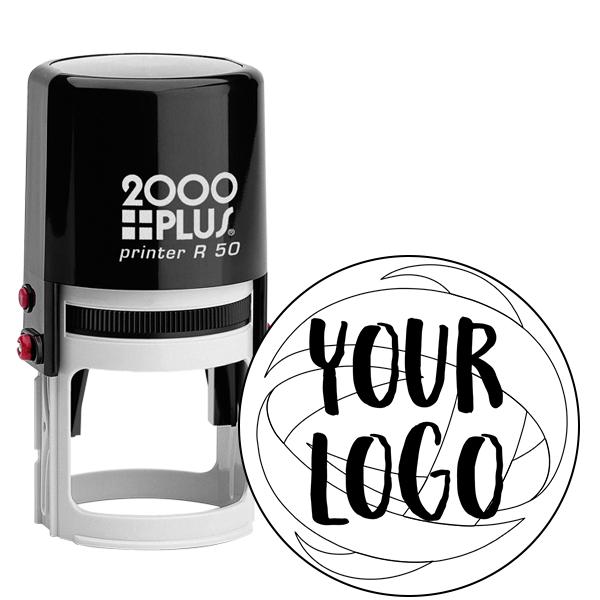 Medium Stamp for Round Logos