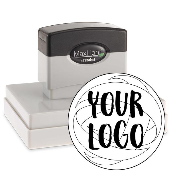 Large Stamp for Round Logos