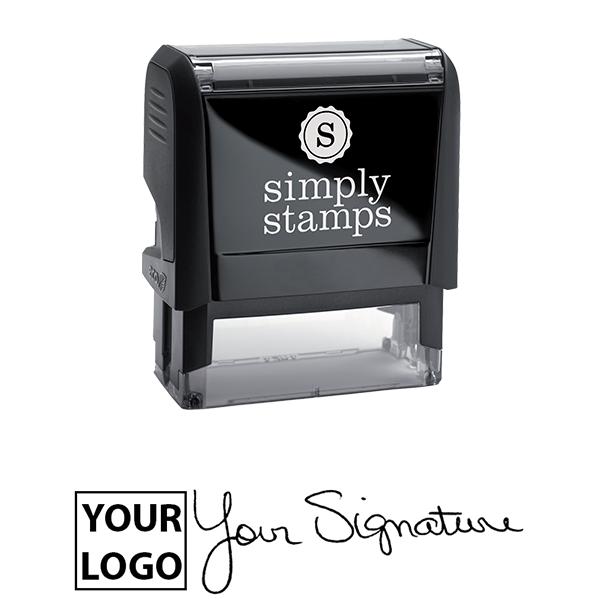 Large Signature Logo Stamp Body and Design