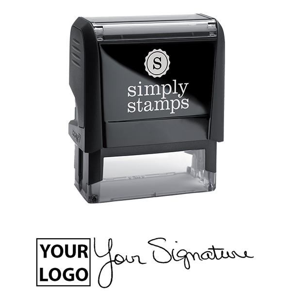 Medium Signature Logo Stamp Body and Design
