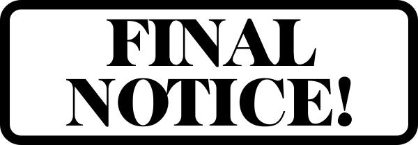 Final Notice Stamp
