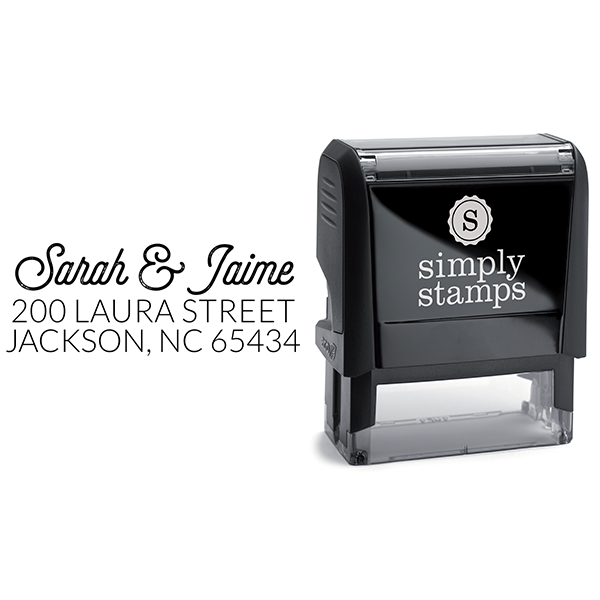 Jaime Address Stamp Body and Design
