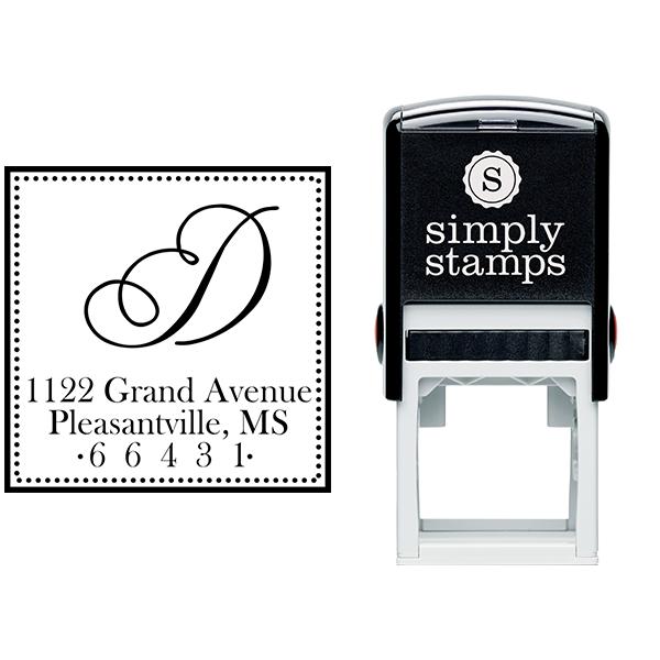 Grand Avenue Address Stamp Body and Design