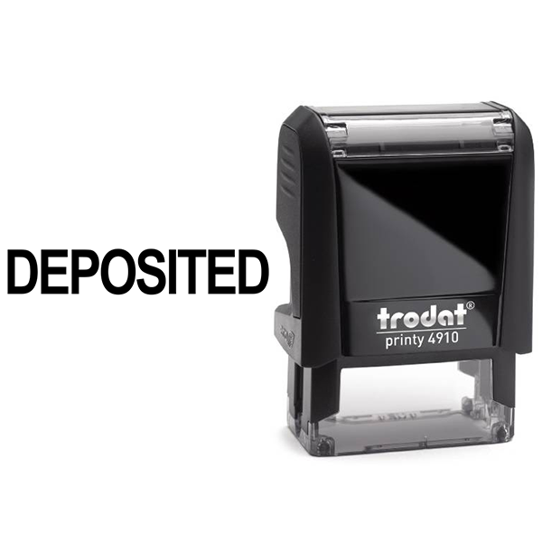 Deposited Stamp Body and Design