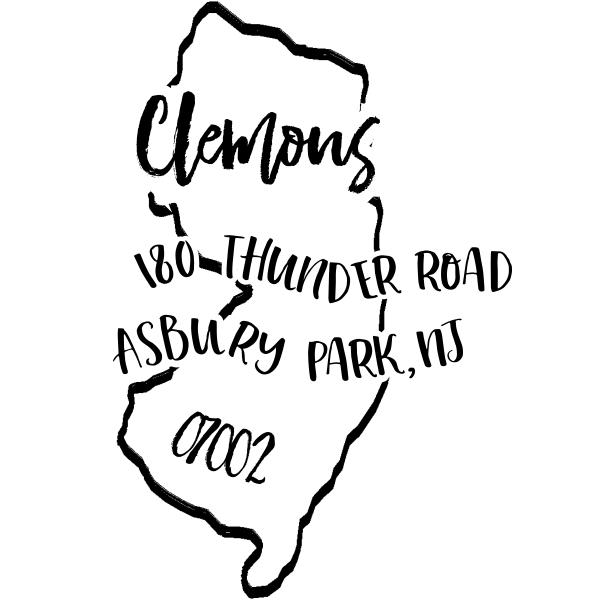 Custom New Jersey Address Stamp