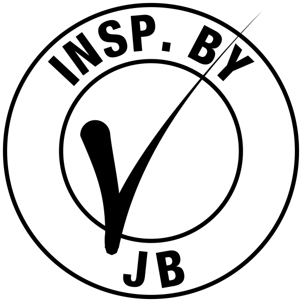 Initials & Check Mark Inspection Stamp