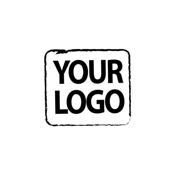 Custom Logo Rubber Stamp 1 Inch
