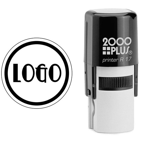 Mini Round Logo Stamp Body and Design