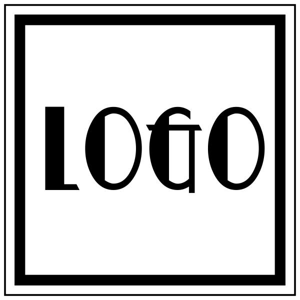 Example logo for Mini Round Logo Stamp