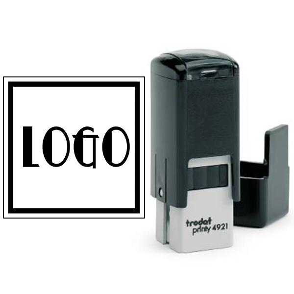 Mini Square Logo Stamp Body and Design