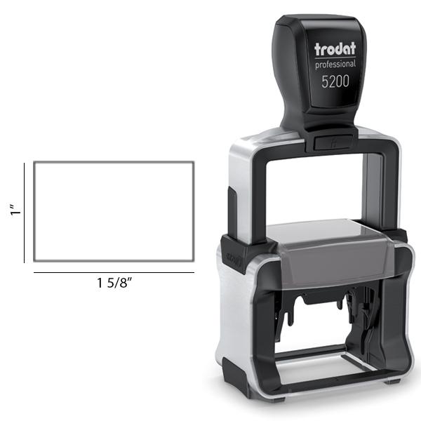 Customizable Trodat Professional 5200 Body and Design