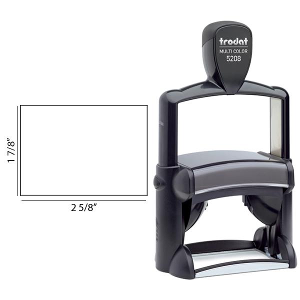 Customizable Trodat Professional 5208 Imprint Size