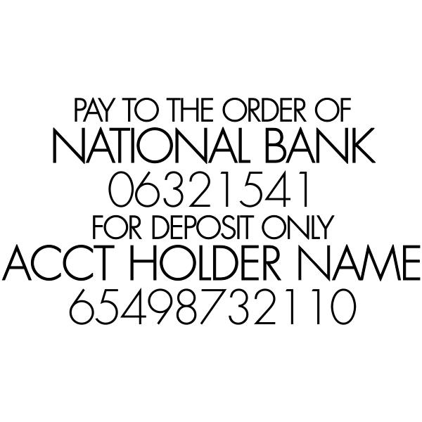 For Deposit Trodat Professional 5211