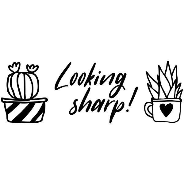 Looking Sharp Cactus Stamp