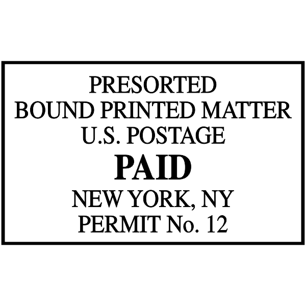 Package Services Mail Permit Stamp
