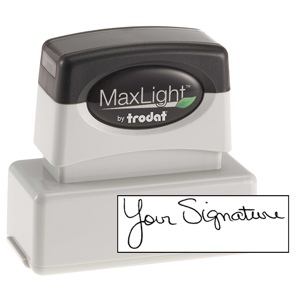 Pre-Inked Signature Stamp