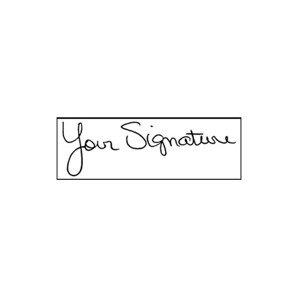 Pocket Signature Stamp
