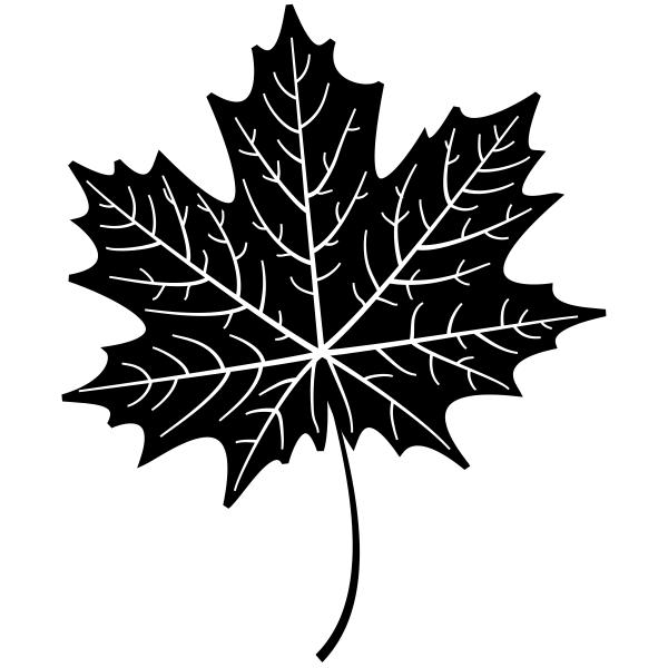Maple Leaf Journal Stamp
