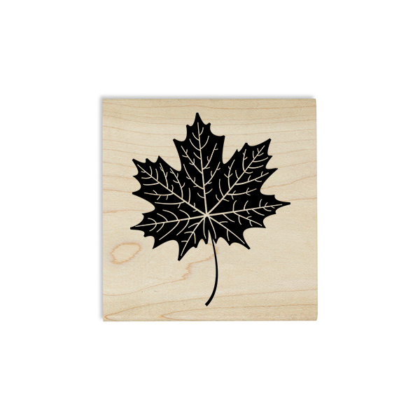 Maple Leaf Journal Stamp Body and Design