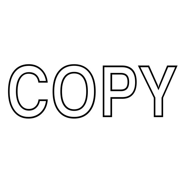Copy Stock Stamp Imprint