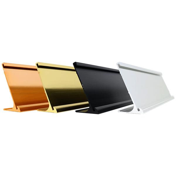 """2"""" x 10"""" Aluminum Desk Holder"""