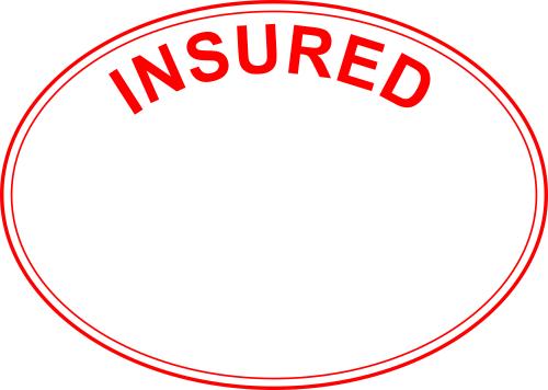 Insured Stock Stamp