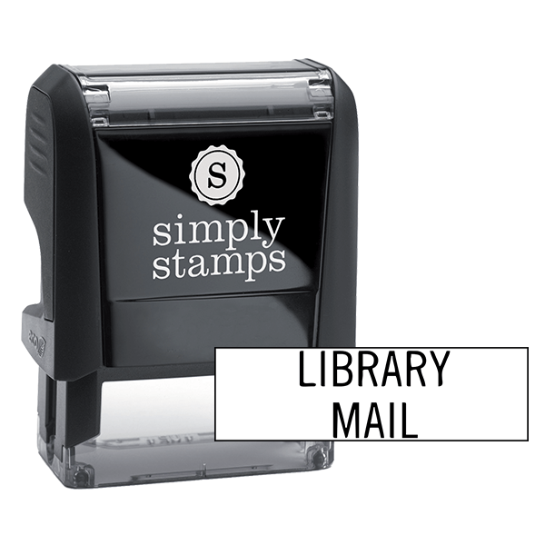 Library Mail Stock Stamp