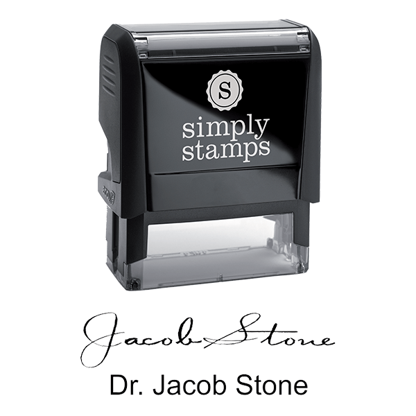 Doctor Signature Stamp Body and Design - Self-Inking