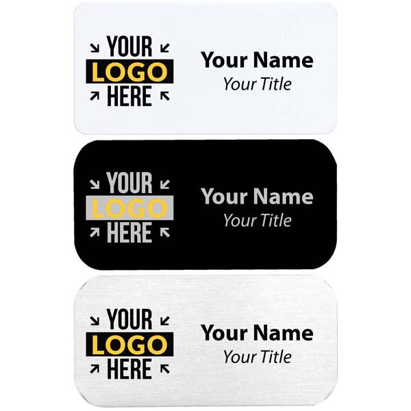 "Custom Full Color Custom Name Tag | 1.5"" x 3"""