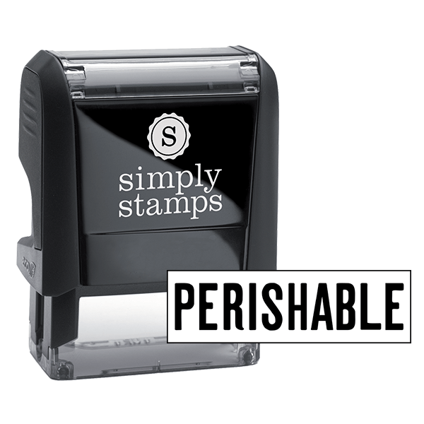 Perishable Stock Stamp