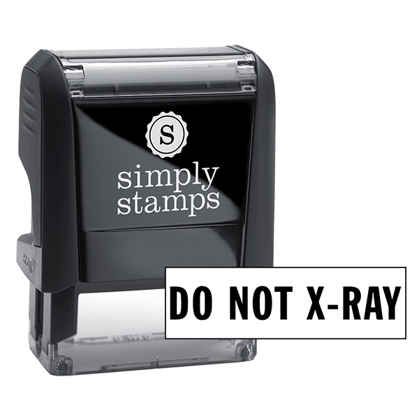 Do Not X-Ray Stock Stamp